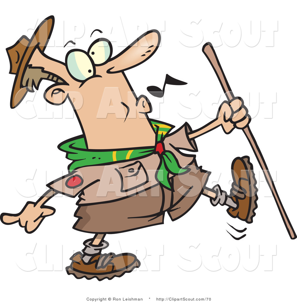 Hiking clipart salute Of Royalty Free Whistling Stock