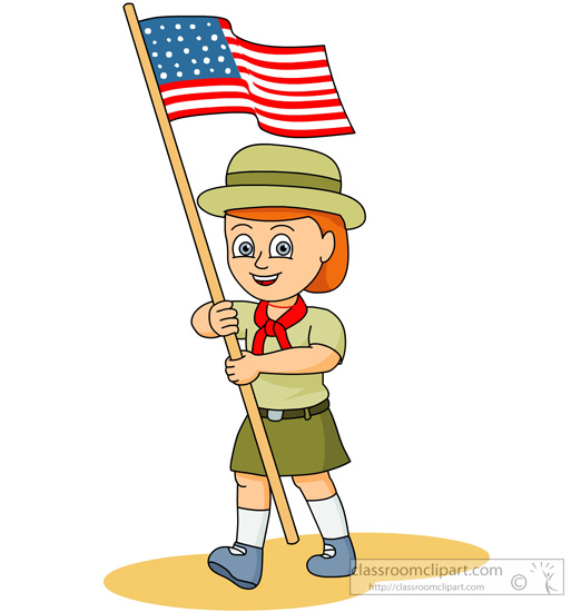 Hiking clipart salute A Search 85 flag Outdoors