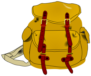 Hiking clipart school camp #5