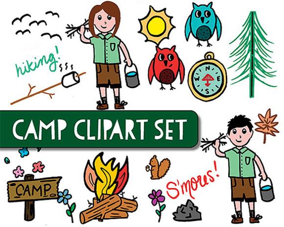 Hiking clipart school camp #9