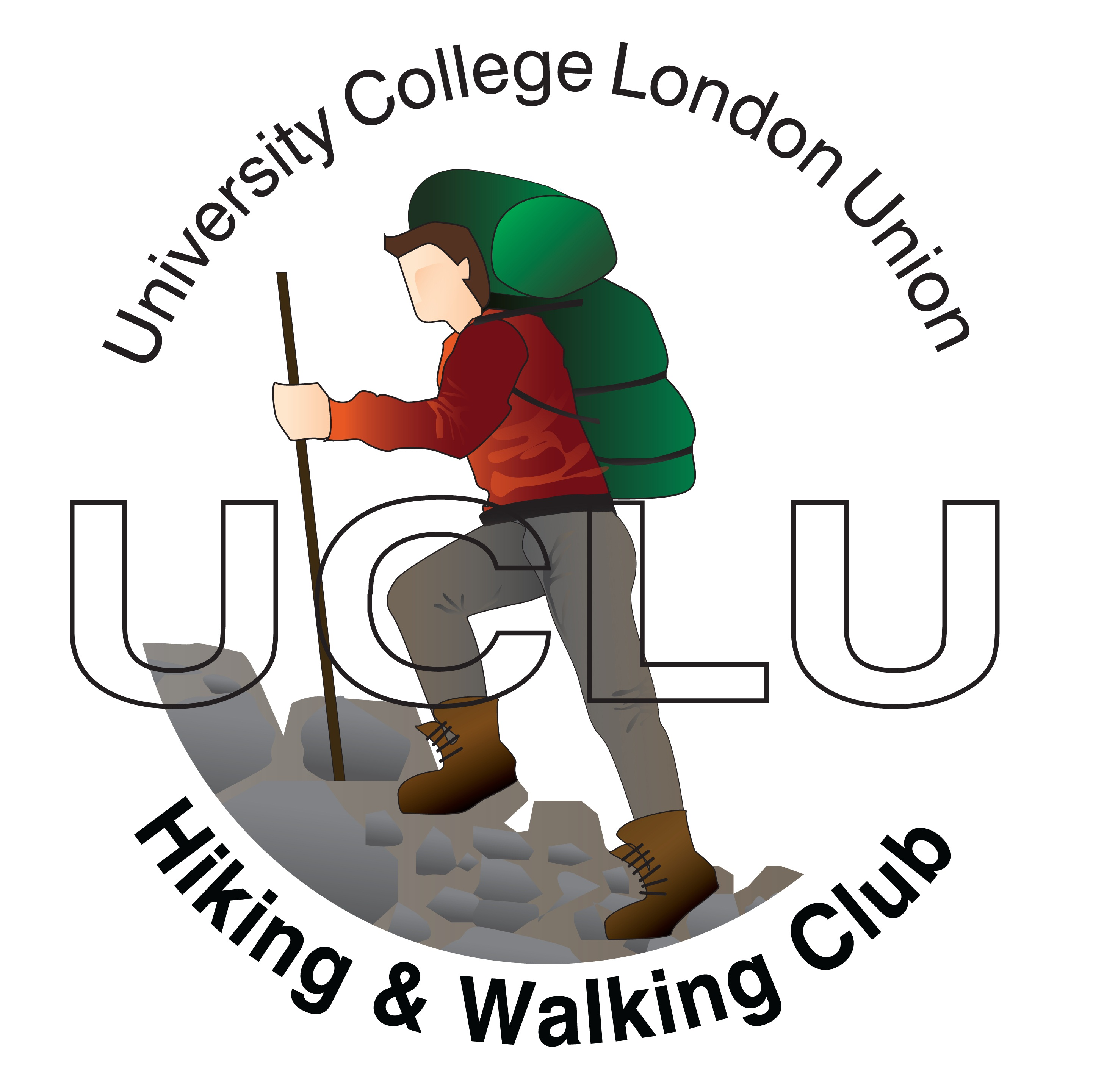Hiking clipart walking group #6
