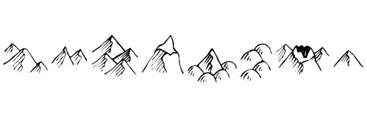 Mountain clipart hill Clipart Hills Dingbat com and