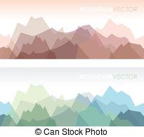Himalaya clipart mountain peak Himalaya coloured 427 vector two