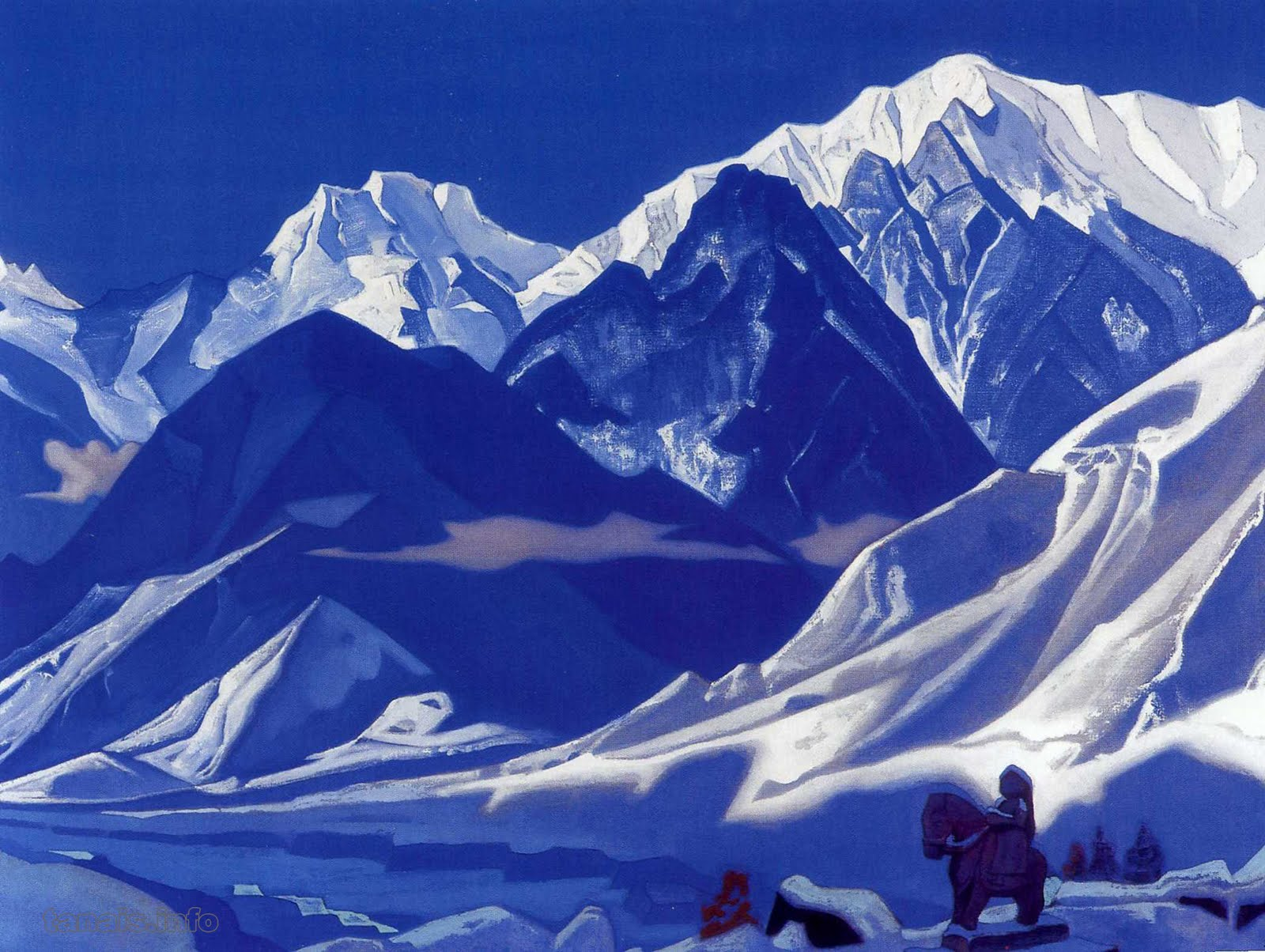 Himalaya clipart A CARRY COMPASS: Roerich's Roerich's