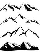 Mountain Ridge clipart himalaya Mountans clipart clipart drawings Download