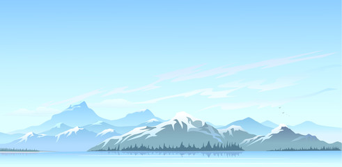 Himalaya clipart mountain range Peaks Great Search Mountain water