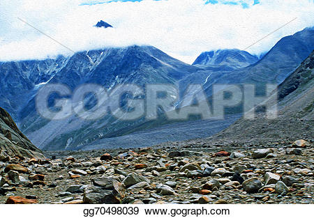 Himalaya clipart mountain background Of A photo himalaya and