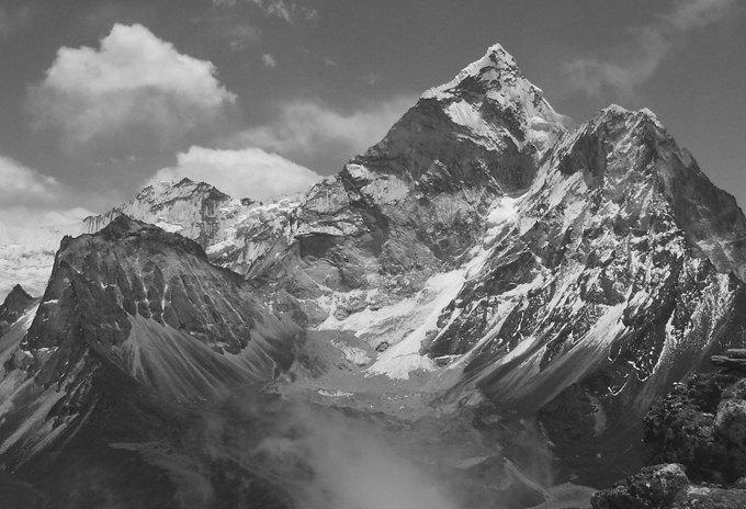 Himalaya clipart mountain peak Home Wall  Art Art