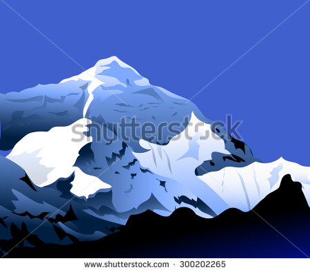 Himalaya clipart mountain range #3