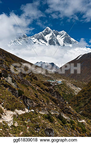 Himalaya clipart moutain Gg61839018 peaks shar Lhotse