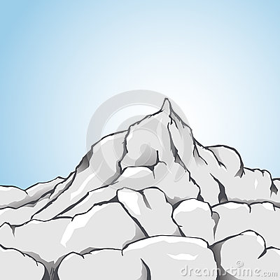 Himalaya clipart rocky mountain Capped Rocky clipart Free rocky