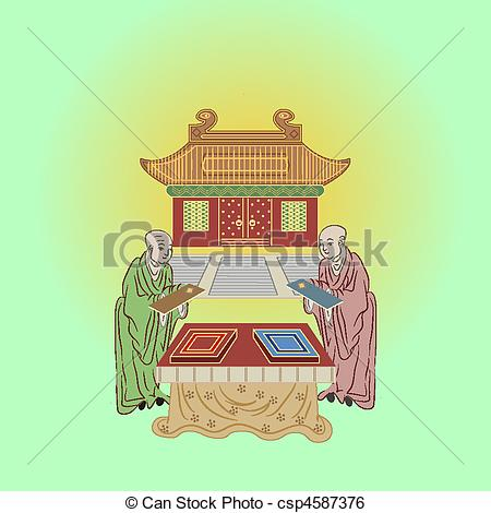 Asians clipart buddhist temple Art vector temple temple buddhist