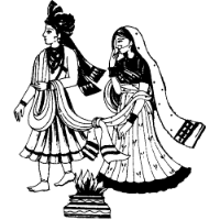 Arabian clipart hindu marriage #3