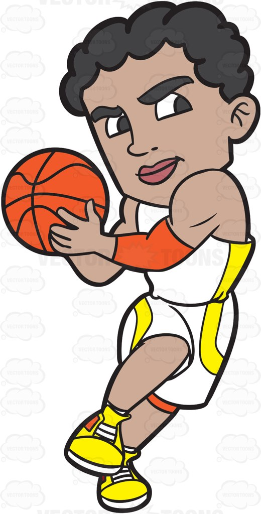 Hip clipart basketball player Charging Passionate A Up Lay