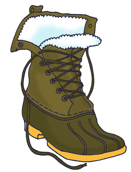 Boots clipart winter boot Clipart 20clipart Panda Free Trainee