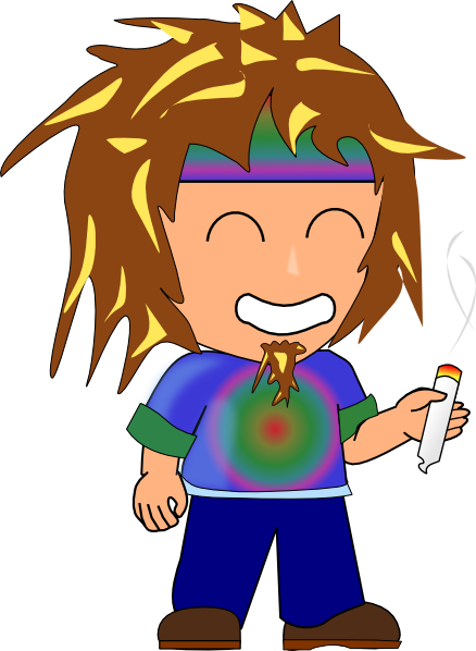 Hippies clipart #9