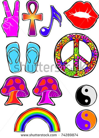 Disco clipart 70 flower Icons Flower Photo Set of
