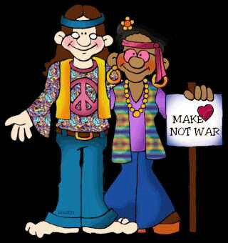 Hippies clipart animated #5