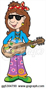 Hippies clipart animated #12