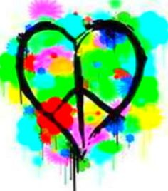 Hippie clipart beautiful heart Stripes And Cell Image Google