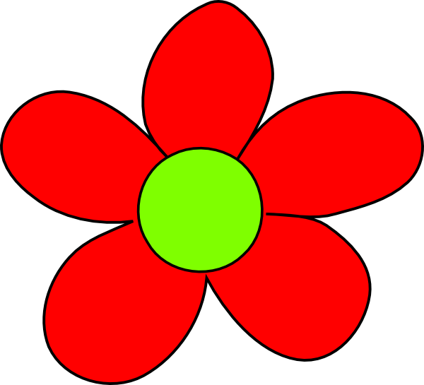 Yellow Flower clipart groovy Hippie Teacher power art flower