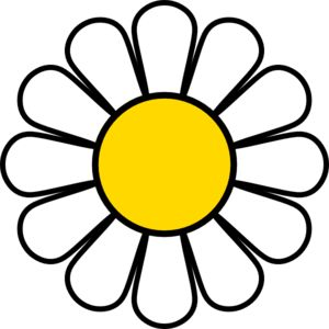 Petal clipart daisy Art on 14 about Yellow