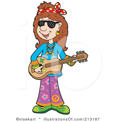 Hippie clipart female #1