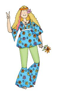 Hippie clipart female #4