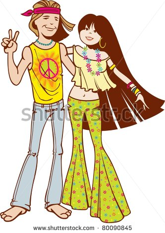 Hippie clipart female #9
