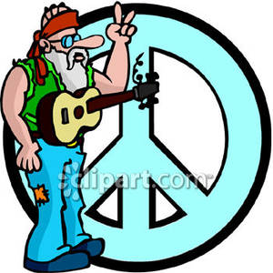 Hippies clipart guitar player Hippie In Free An of