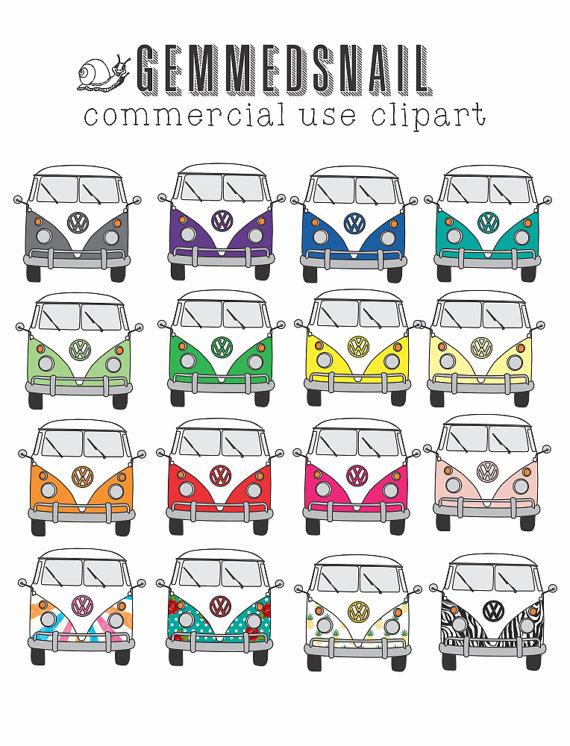 Camper clipart kombi Art clip clipart art on