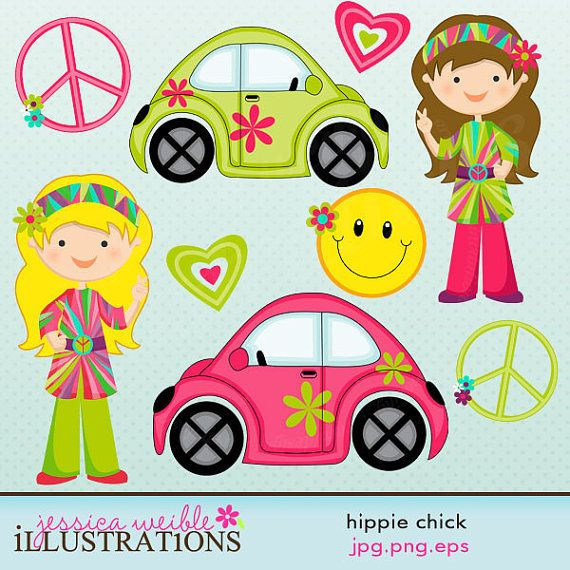Triipy clipart cute Use Hippie about Chick on