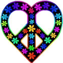 Peace Sign clipart peace and love Sign Heart peace Art 4: