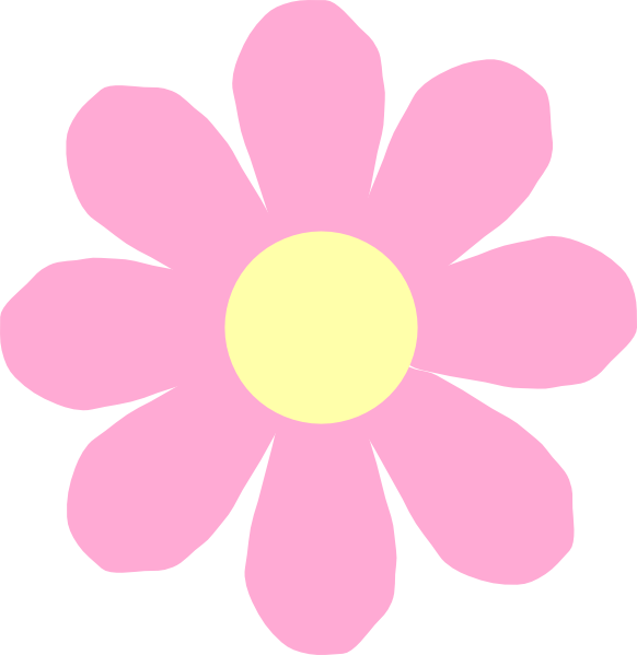 Pink Flower clipart large flower Hippie transparent Cliparts flower Pie