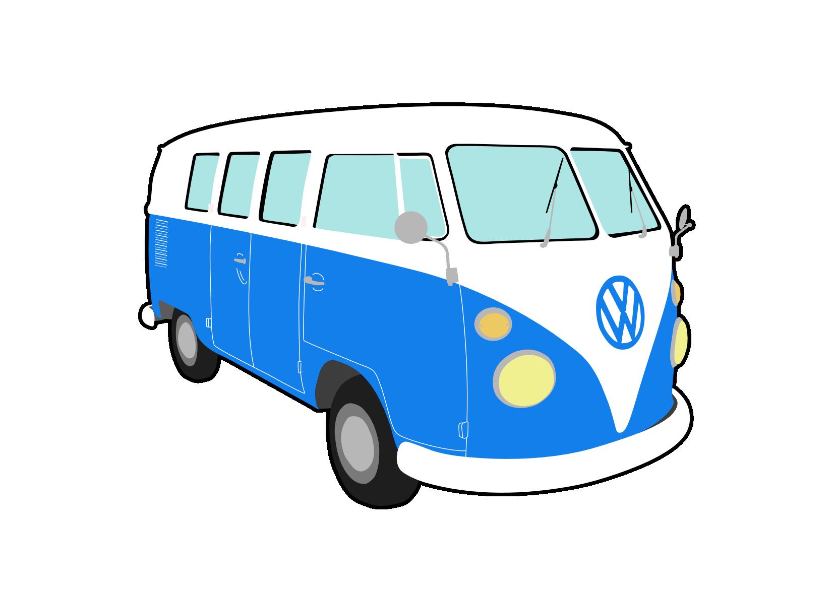 Blue Car clipart blue van Clker public clker vector vector