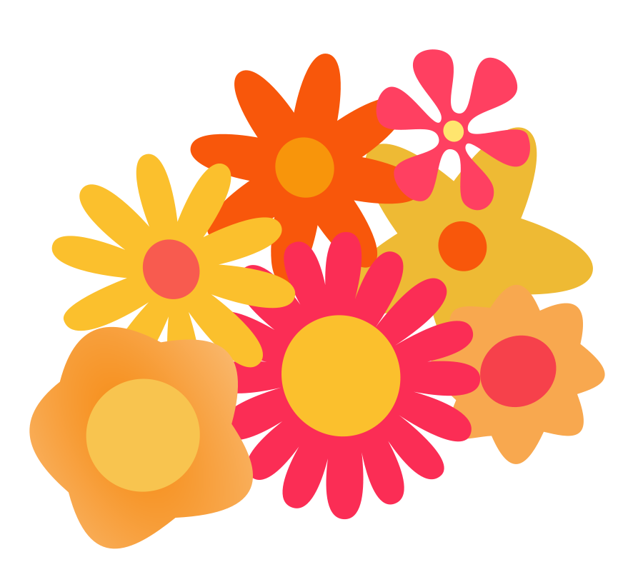 Hippies clipart yellow flower Free svg file Download Yellow