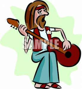 Hippies clipart #14