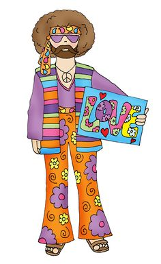 Hippies clipart #15