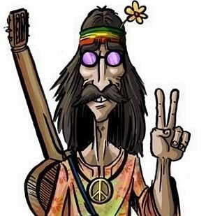 Hippies clipart animated #15