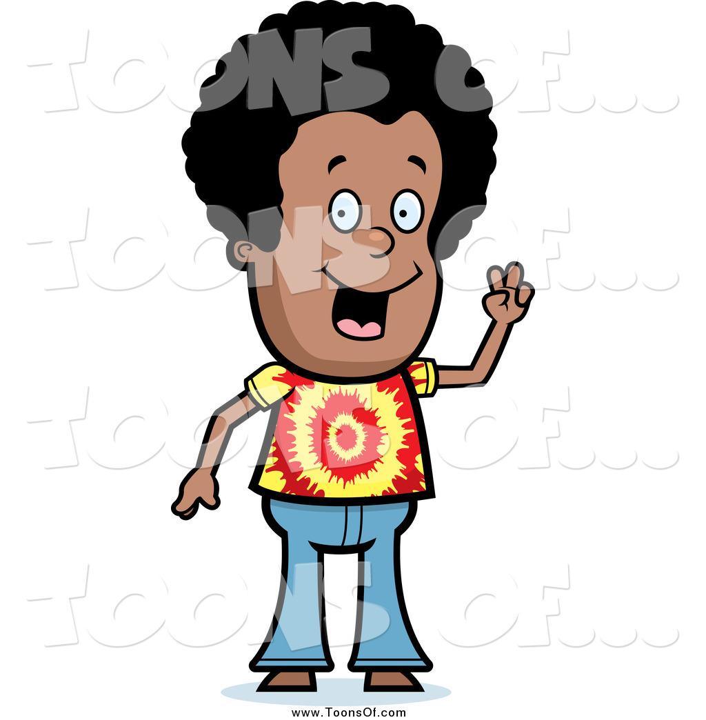 Hippies clipart cartoon A Clipart Thoman Dude Gesturing