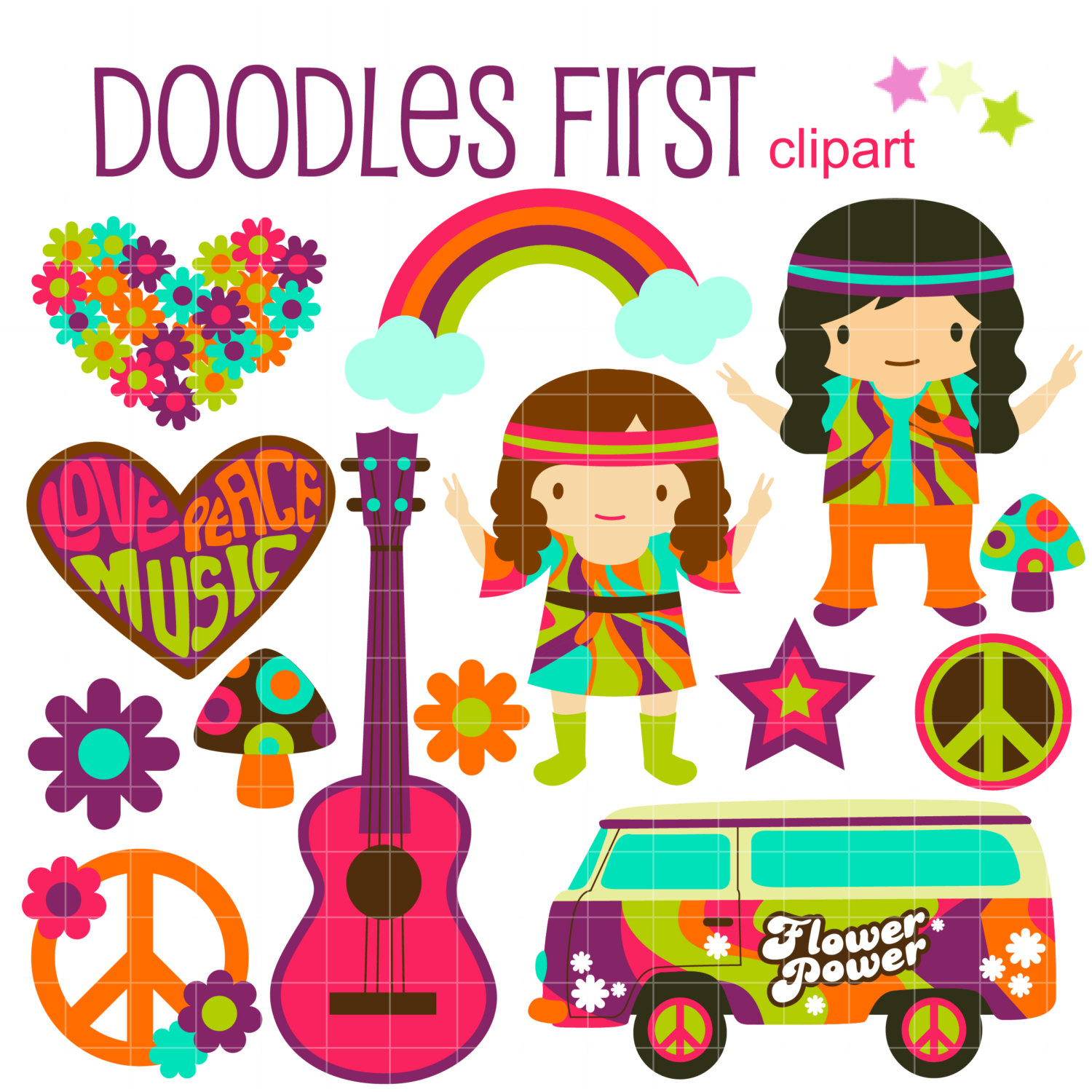 Hippies clipart glass #7