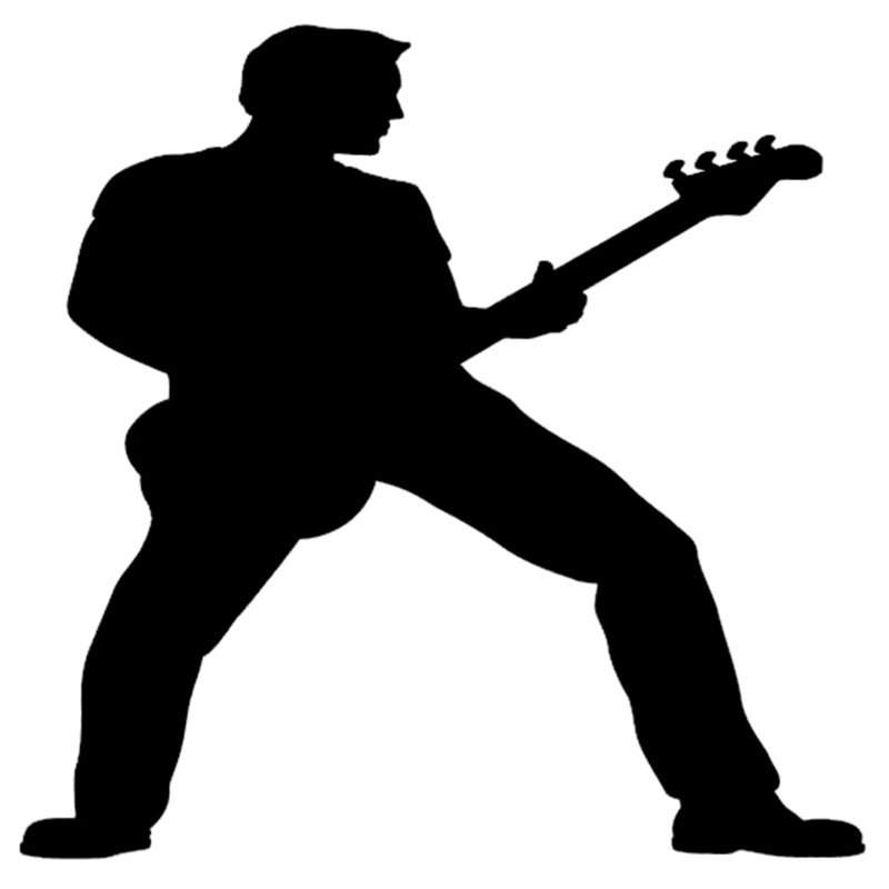 Hippies clipart guitar player Guitar For Decal Bass