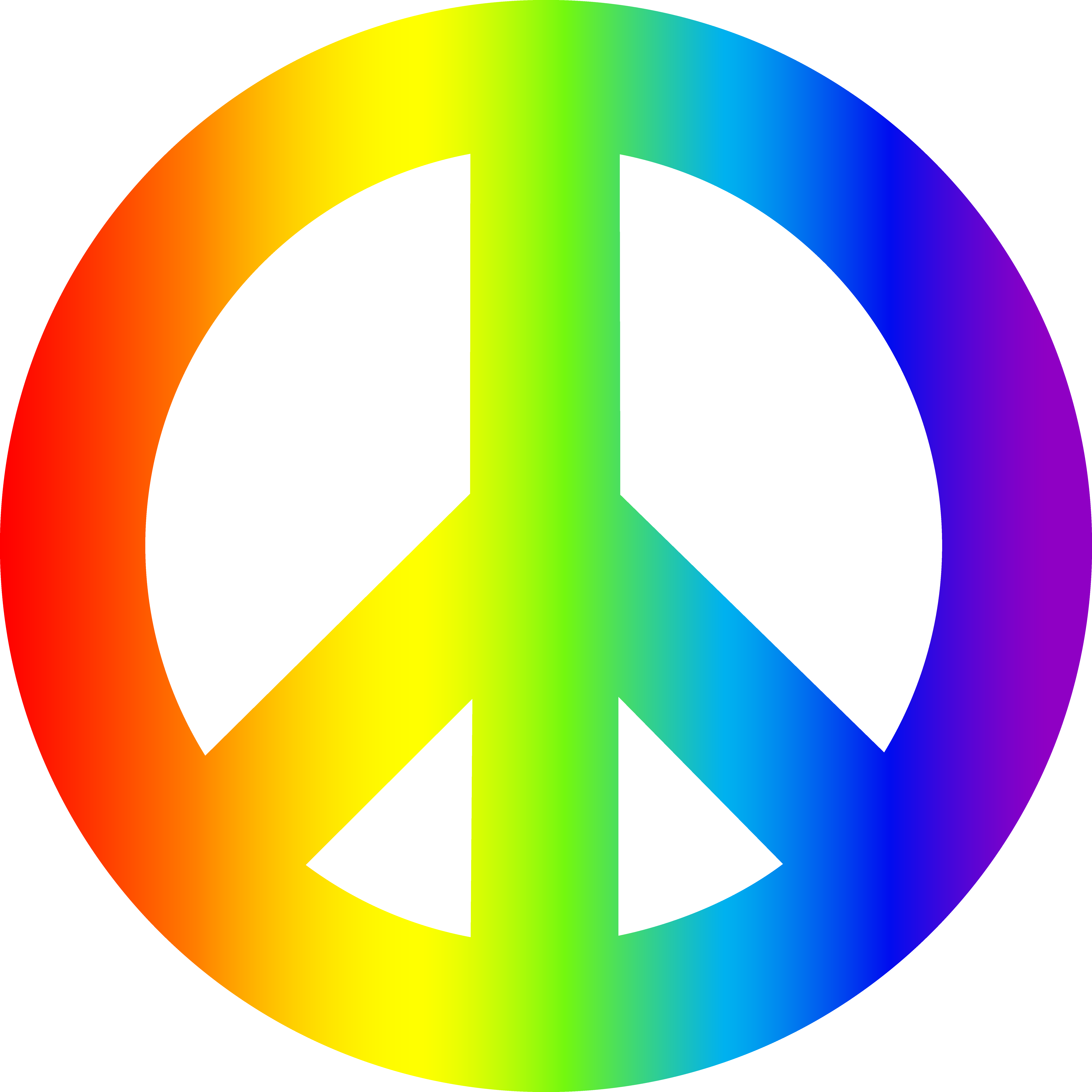Peace clipart colorful Sign  clipart peace_sign_rainbow colorful