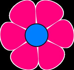 Pink Flower clipart blue flower Free 20clipart Panda Hippie hippie%20clipart