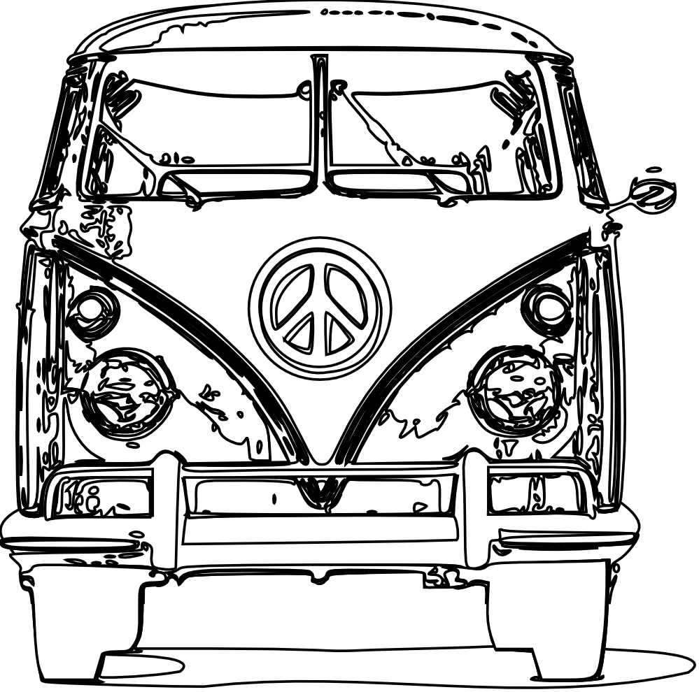 Coloring VW cado VW Pinterest
