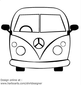 Hippie VW Cake VW inspirations