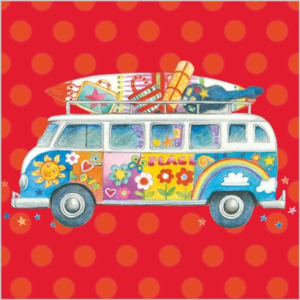Hippies clipart vw camper van #12