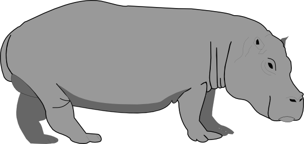 Hippo clipart Illustrations images art clip Free
