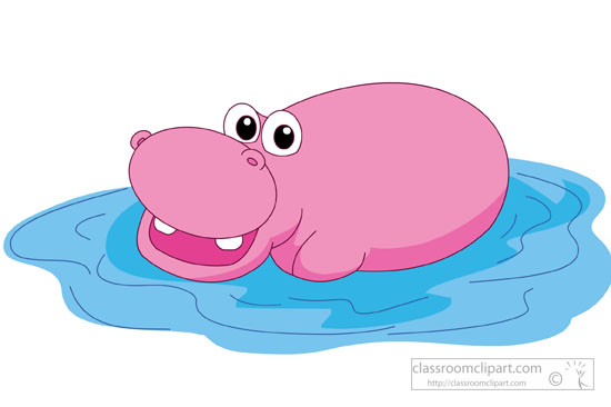 Hippo clipart Clipart large Kb Pictures 72
