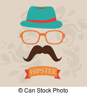 Hipster clipart 764 Hipster beige